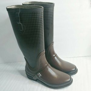 L.L. Bean Wellies Women Size 10 Tall Rain Boots